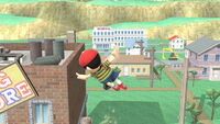 Ataque aéreo normal Ness (1) SSB4 (Wii U)