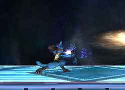 Ataque normal Lucario SSBB (2)