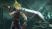 Cloud en Midgar SSB4 (Wii U)