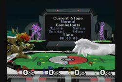 Personajes no jugables en el Estadio Pokemon SSBM (1)