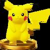 Trofeo de Pikachu SSB4 (Wii U)