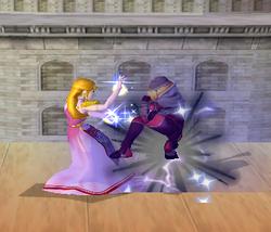 Golpiza Zelda SSBM