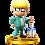 Trofeo de Jeff SSB4 (Wii U)