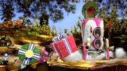 Créditos Modo Leyendas de la lucha Olimar SSB4 (Wii U)
