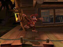 Pose de espera Diddy Kong SSBB (1)