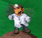 Pose de espera de Dr. Mario SSBM