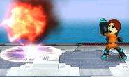 Tirador Mii Llamarada SSB4 (3DS) (2)
