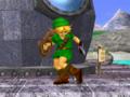 Young Link espera Pose Melee
