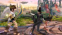 Agarre Normal Bayonetta SSB Wii U