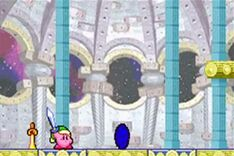 Capa dimensional en Kirby Pesadilla en Dream Lands