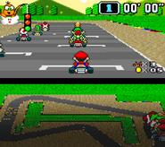 Clásico Super Mario Kart SSB4 (Wii U)
