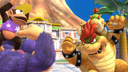 Créditos Modo Leyendas de la lucha Bowser SSB4 (Wii U)