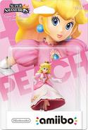 Embalaje del amiibo de Peach