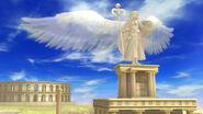 Estatua de Palutena SSB4 (Wii U)