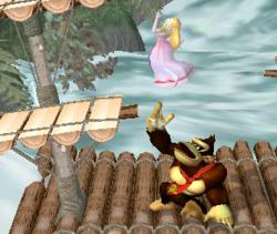 Lanzamiento hacia arriba de Donkey Kong (2) SSBM