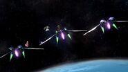 Peach, Samus y Palutena en la Estación espacial SSB4 (Wii U)