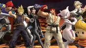 Todos los combatientes (Contenido descargable) SSB4 (Wii U)