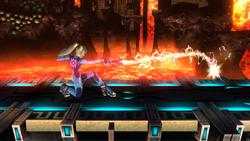 Agarre en carrera de Samus Zero SSB4 (Wii U)