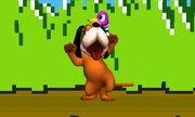 Burla inferior Duck Hunt SSB4 (3DS)