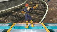 Burla inferior de Captain Falcon (2) SSB4 (Wii U)