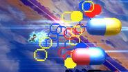 Dr. Mario usando el Dr. Mario Final en SSB4 (Wii U)