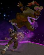 Ganondorf usando Dragón Gerudo SSBM