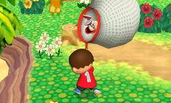 Lanzamiento hacia abajo Aldeano (1) SSB4 (3DS)