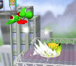 Lanzamiento trasero de Pikachu (2) SSB