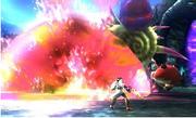 Llama explosiva en Kid Icarus Uprising
