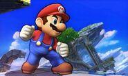 Mario en el Campo de batalla SSB4 (3DS)