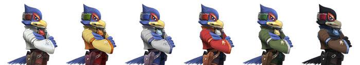 Paleta de colores Falco SSBB