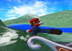 Ataque de recuperación desde el borde 100% de Mario SSBM