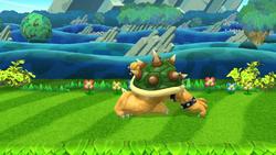 Burla lateral Bowser (1) SSB4 (Wii U)