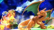 Charizard versus Mario SSB4 (Wii U)