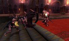 Corrin usando Colmillo Dragon en Fire Emblem Fates