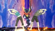Créditos Modo Leyendas de la lucha Greninja SSB4 (Wii U)