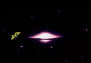 Explosión de Planeta Zebes Super Metroid