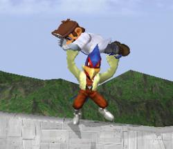 Lanzamiento hacia abajo de Falco (1) SSBM