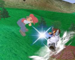 Lanzamiento trasero de Dr. Mario (2) SSBM