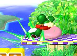 Lanzamiento trasero de Kirby (2) SSBM