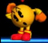 Pac-Man Pose de Espera (2) SSB 3DS