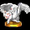 Trofeo de Reshiram SSB4 (3DS)