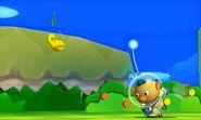 Alph usando Lanzamiento de Pikmin en SSB4 (3DS)
