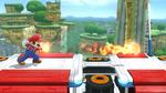 Bola de fuego personalizable (segundo efecto) en tierra SSB4 (Wii U)