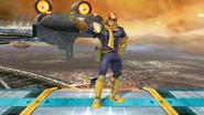 Burla inferior de Captain Falcon (1-2) SSB4 (Wii U)