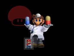 Pose de victoria Dr. Mario Y (3) SSBM