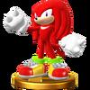 Trofeo de Knuckles SSB4 (Wii U)