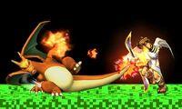 Ataque de recuperacion de Charizard SSB4 (3DS)