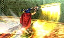 Ataque en carrera Ike SSB4 (3DS)