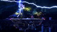 Efecto de Ramuh en Midgar (2) SSB4 (Wii U)